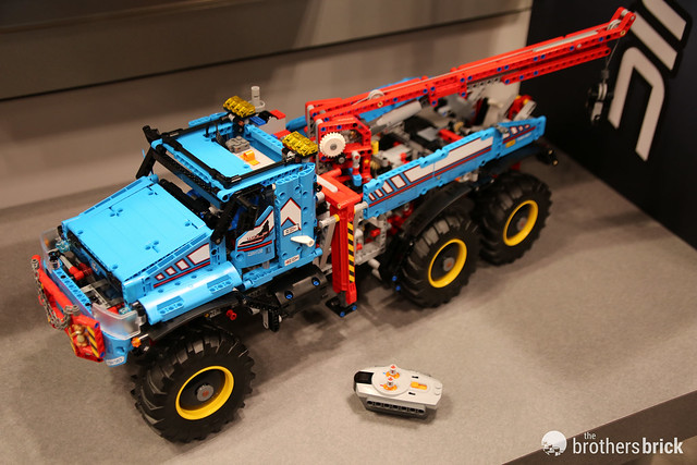 42070 6x6 All Terrain Tow Truck
