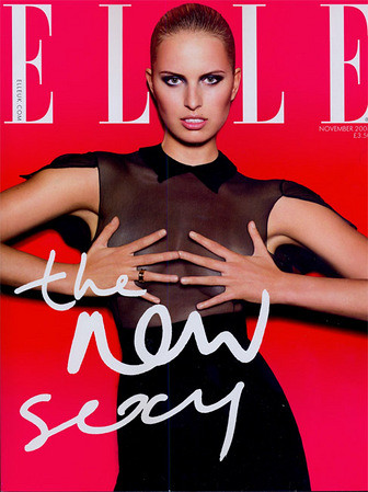 Karolina Kurkova Elle Magazine by Biilboard Hot 100