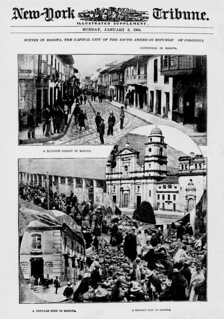 Scenes in Bogota, the capital city of the South American Republic of Colombia (LOC)