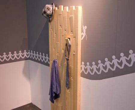 Otro perchero original decoraci n hogar ideas y cosas - Perchero original pared ...