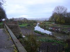 Buren: Town Wall and River Korne