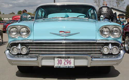 1958 Chevrolet Bel Air Impala Sport Coupe (1 of 12)