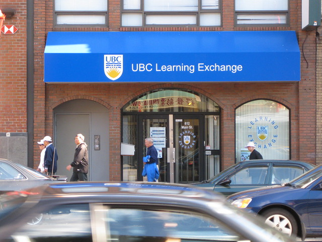 UBC Learning Exchange