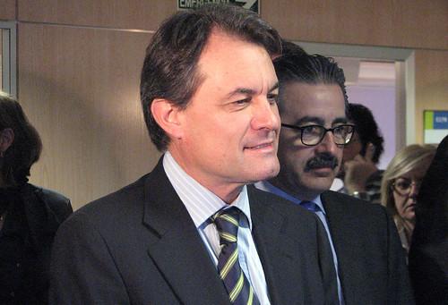 Artur Mas, el presidente catalán