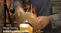 Woodturning at the North of England Woodworking and Power Tool Show, Harrogate
