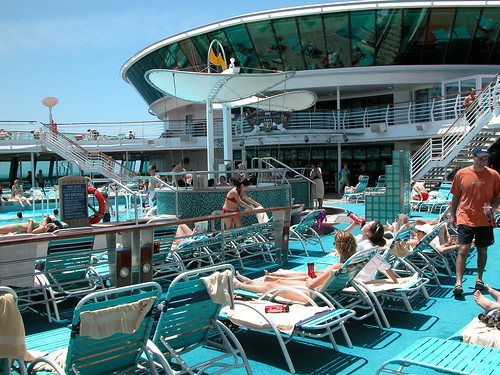 """Brilliance Of The Seas"" Pool Deck by Cruise Dog"