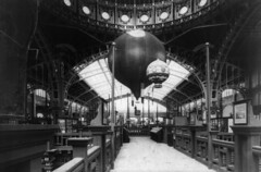 Two balloons at the Exposition Universelle, Paris, 1889