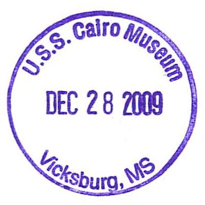 U.S.S. Cairo Museum - Vicksburg, MS - DEC 28 2009