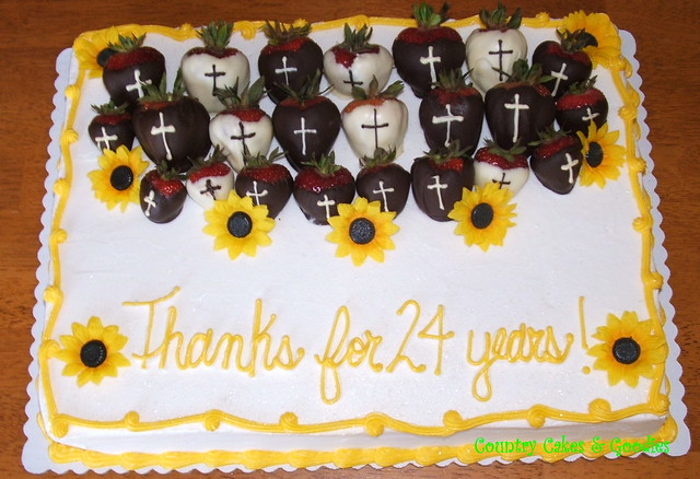 Pastor Appreciation Cake http://www.flickr.com/photos/countrycakes/4378723515/
