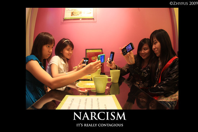 Header of narcism