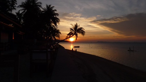 Koh Samui -Sunset @ Bantai Beach コサムイ 夕日14