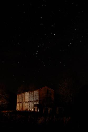 longexposure lake mill night oregon dark stars spring ruins or horizon nighttime orion constellation afterdark vernonia electricmill millsite oregonamerican