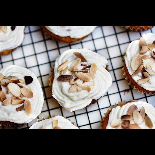 Carrot Cake Cupcake with Mascarpone Icing | For recipe check ...