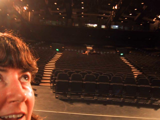 Me on stage at The Canberra Theatre