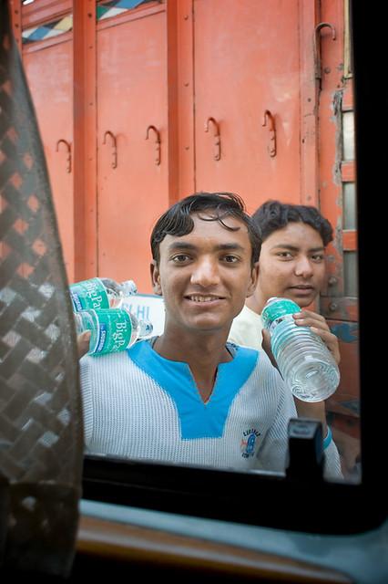 India #50: bottled water