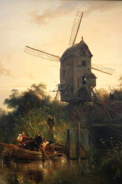 Museum Boijmans van Beuningen - Landschap met standerdmolen