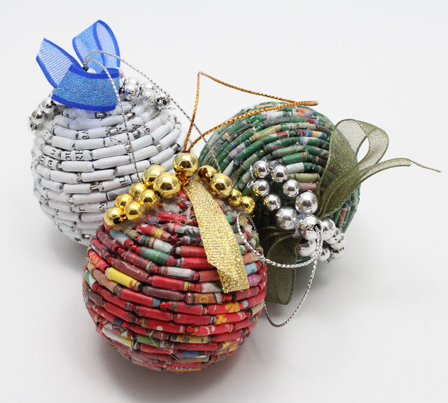Christmas Wall Decor Recycled : Recycled christmas decoration a gallery on flickr