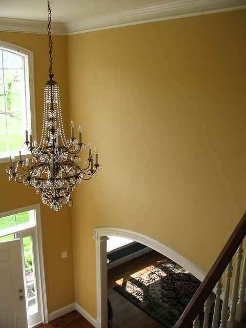 Two Story Foyer Paint Colors : Ideas about two story foyer on pinterest second