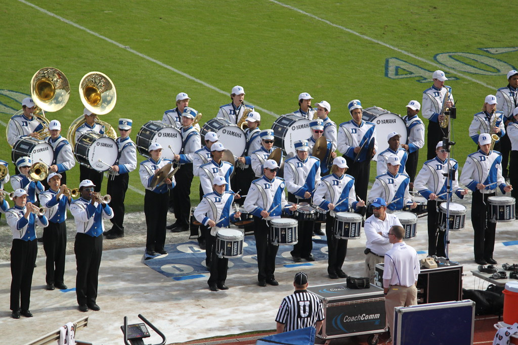 The Duke Marching Band