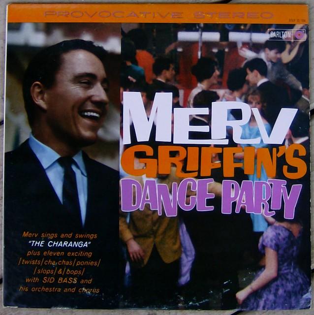 Merv Griffin's Dance Party album cover