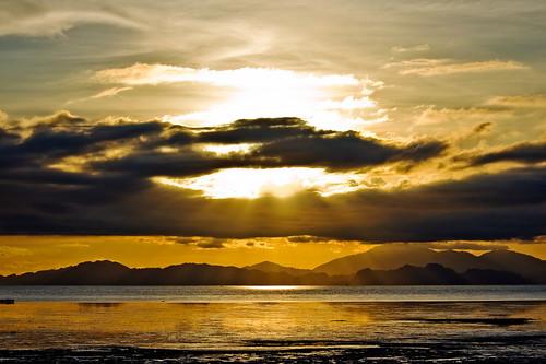 sunset sun beach canon landscape 1855mm eos450d