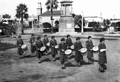 christmas drum band queensland drummers christmascarol twelvedaysofchristmas statelibraryofqueensland slq