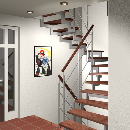 treppe selber bauen handlauf with treppe selber bauen. Black Bedroom Furniture Sets. Home Design Ideas