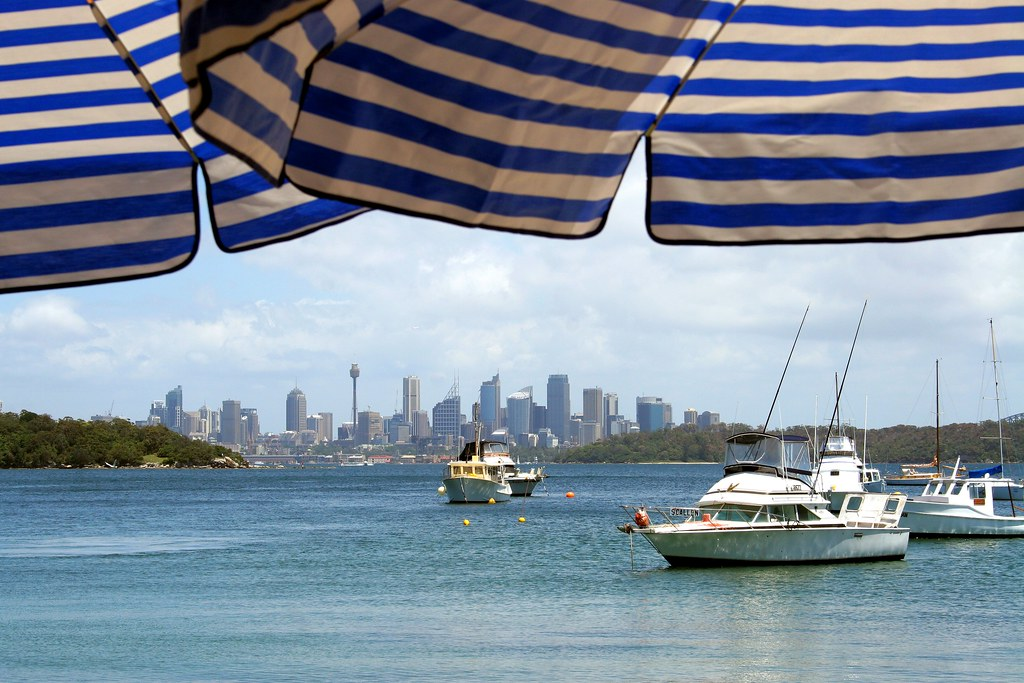 Watsons Bay - View from the Restaurant