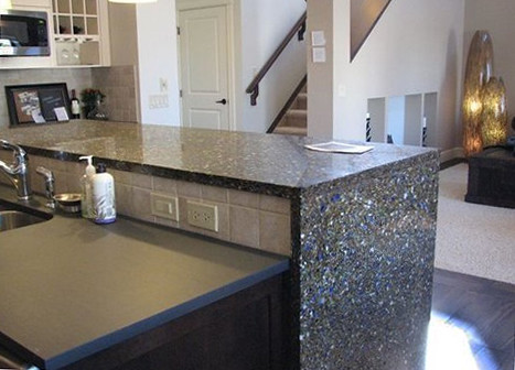 Alternatives To Granite Countertops : Vetrazzo alternative to granite countertops (12) Flickr - Photo ...