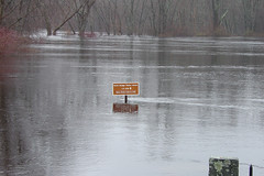 Flooding in Concord, Mass