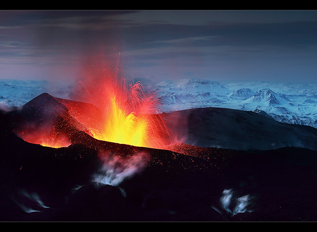 Black Mountain - Eyjafjallajökull Eruption