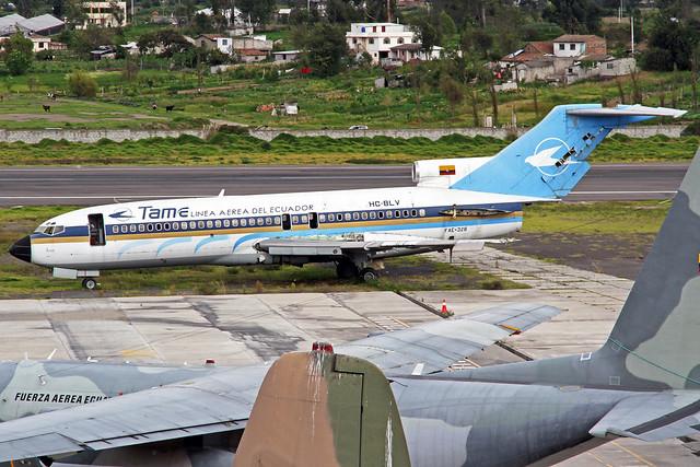 TAME Boeing 727-017 HC-BLV (FAE-328)
