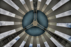 Water Tower - Iniside/Underneath - Tonemapped