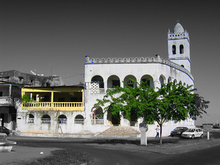 The White mosque (Moroni, Comoros)