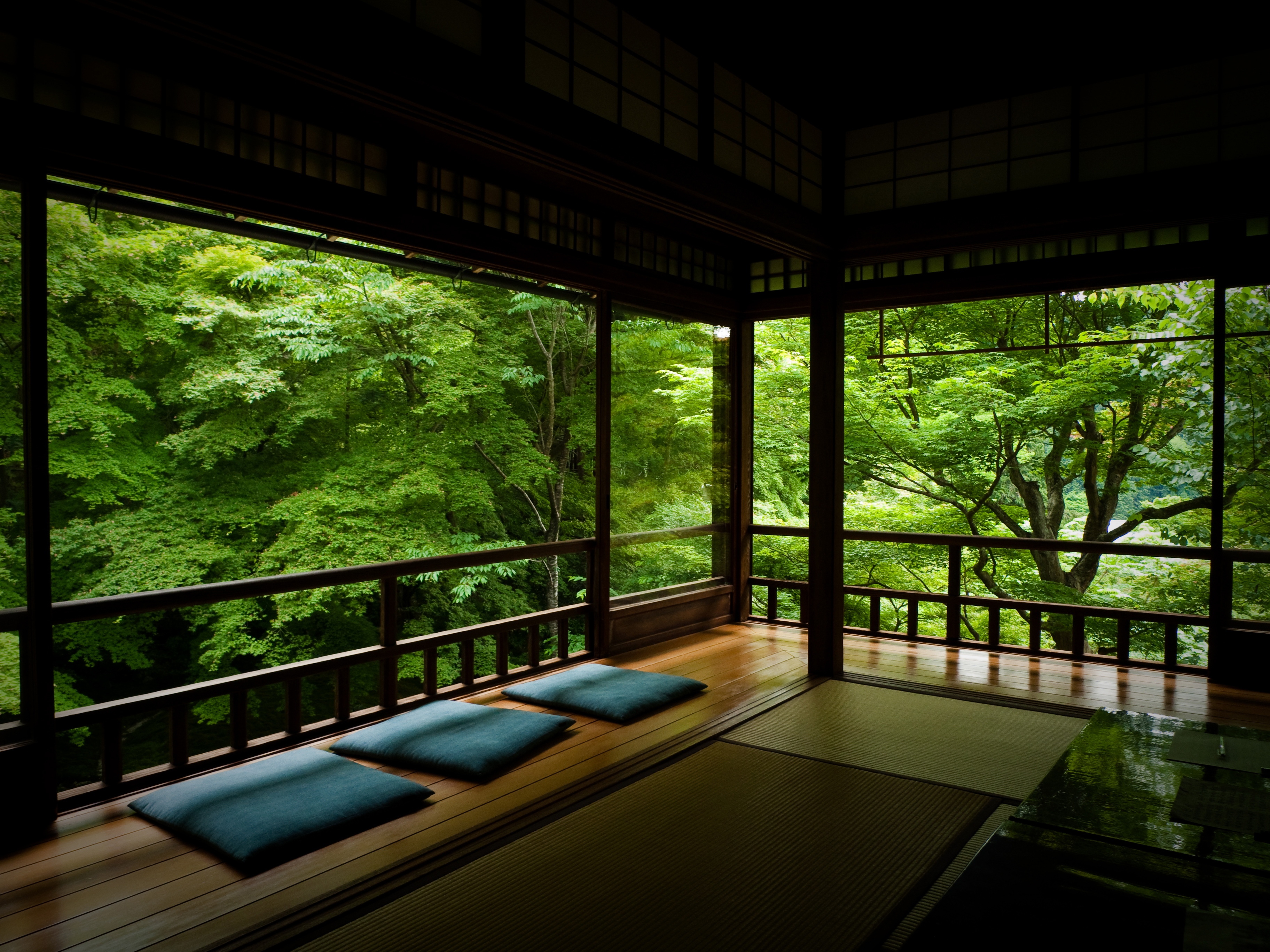 Japanese tea room via people and for Living room ideas zen