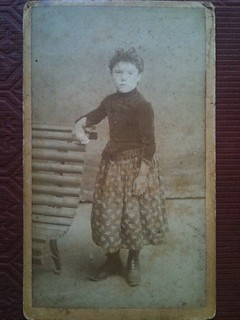 Little girl from Barcelona cdv