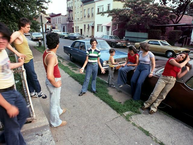 brooklyn boro park hangout 1977 kodak kodachrome