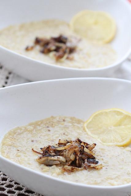 Makhlouta - Lebanese rice and lentil soup / Liibanoni riisi-läätsesupp