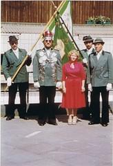 1980, Königspaar Marlene und Wolfgang Hübert, 1980, SW146