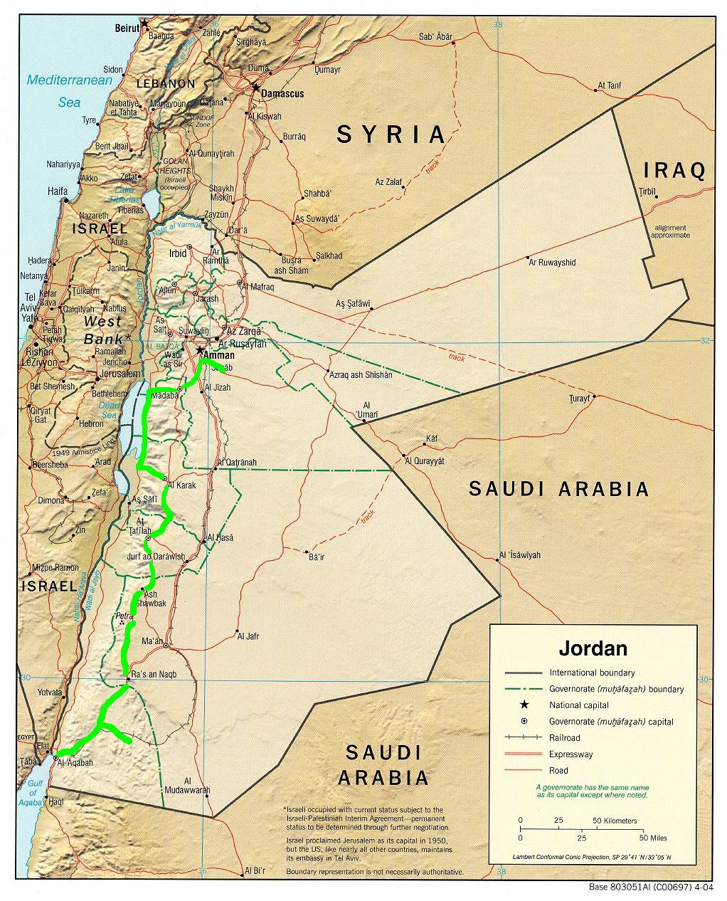 Jordan - Syria 2009