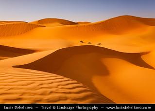 United Arab Emirates - UAE - Shapes & Shadows of Empty Quarter Desert - Rub Al Khali