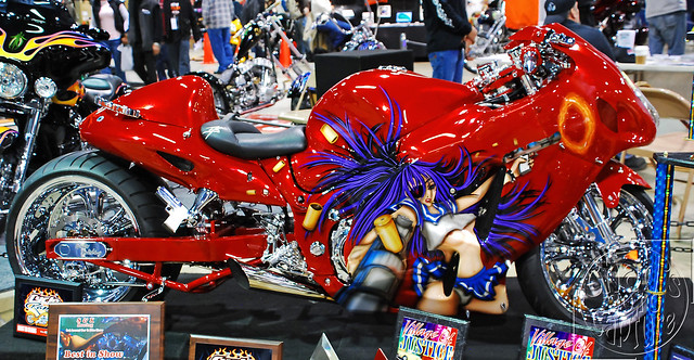 Custom Painted Suzuki Gsxr