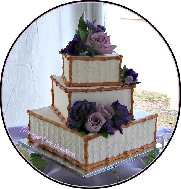 Basket Wedding Cake
