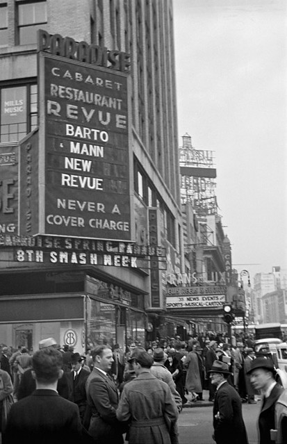 ... cabaret restaurant in the brill building new york 1936 looking north