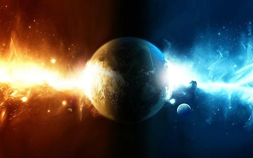[フリー画像素材] グラフィック, CG, グラフィック - 宇宙, 地球 ID:201211231600