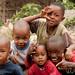 Group of Friendly Kids - Mto wa Mbu, Tanzania