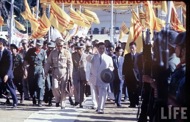 TT Ngo Dinh Diem tham Cao nguyen Trung phan