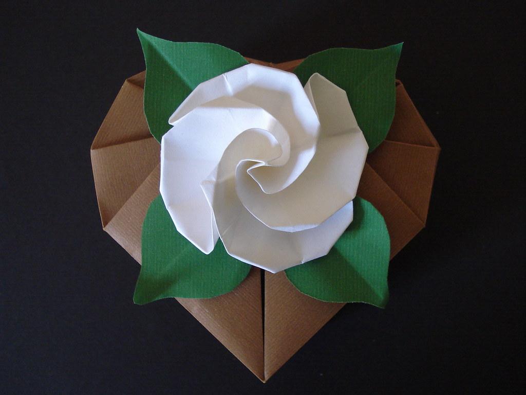 Caixa De Origami Margarida Flickr