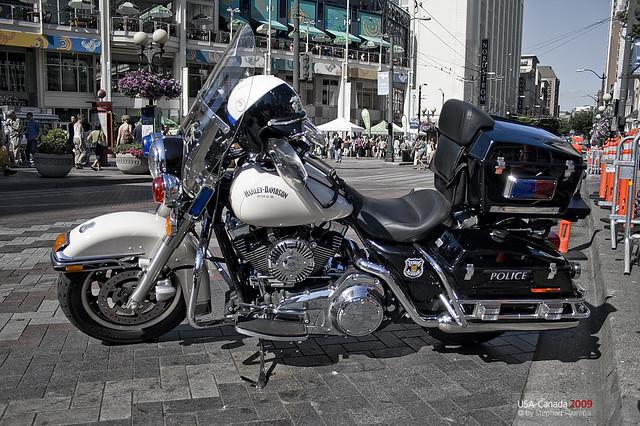 Harley Davidson Police Bike Flickr Photo Sharing