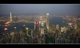 Hong Kong - View from the Peak HDR